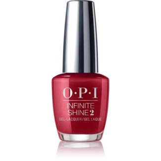 OPI INFINITE SHINE AN AFFAIR IN RED SQUARE