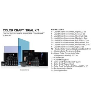 PM COLOR CRAFT TRIAL KIT (CCTK18)//2018 - PREPACKED