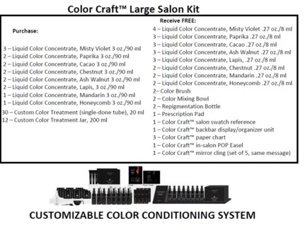 PM COLOR CRAFT SALON KIT (CCSL18)//2018 - PREPACKED