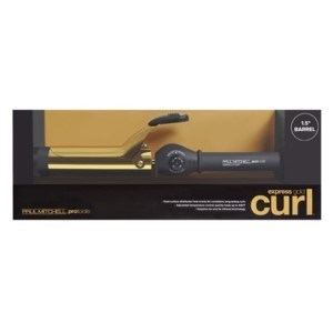 "PM EXPRESS GOLD CURLING IRON 1.5"" BARREL (SPRING) LE"