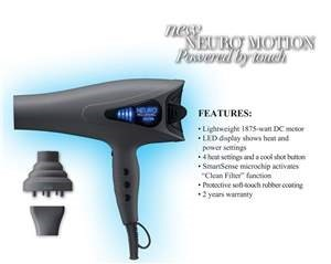 PM NEURO MOTION DRYER 1875W (POWERED BY TOUCH)