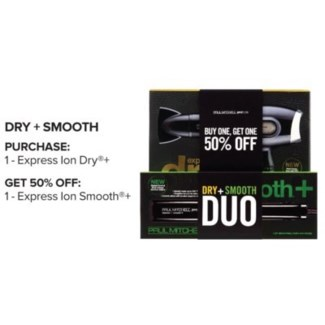 PM EXPRESS ION DRY+ (PLUS) W/ ION SMOOTH+