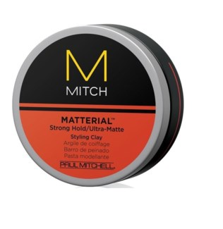 PM MITCH MATTERIAL STYLING CLAY 3oz STRONG HOLD