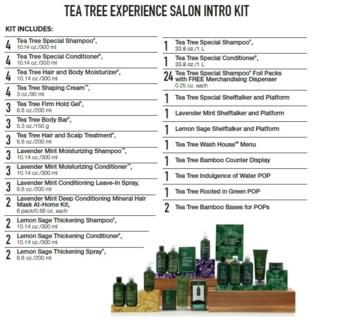 PM TEA TREE EXPERIENCE SALON INTRO KIT (TTESLN18)//2018