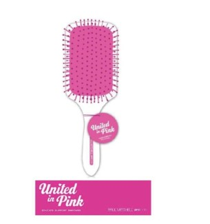 PM UNITED IN PINK PADDLE BRUSH