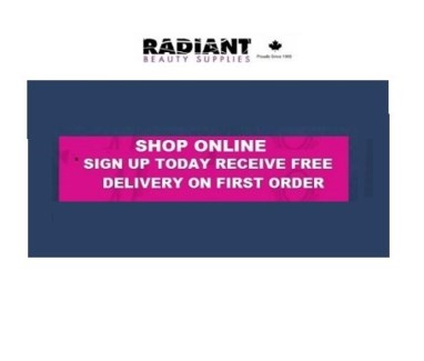 FIRST ONLINE ORDER-FREE DELIVERY 1 PER SALON