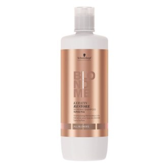 SC BM KERATIN RESTORE BONDING SHAMPOO (ALL BLONDES) LITRE