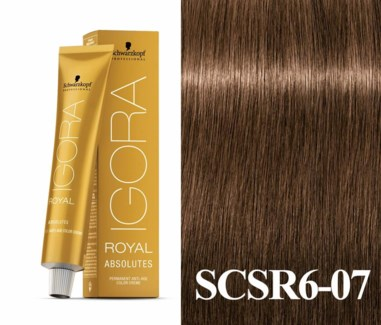 SC IR 6-07 ABSOLUTES DARK BLONDE NATURAL COPPER /NEW