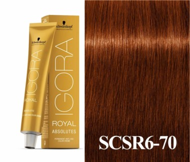 SC IR 6-70 ABSOLUTES DARK BLONDE COPPER NATURAL