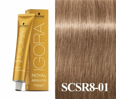 SC IR 8-01 ABSOLUTES LIGHT BLONDE NATURAL CENDRE /NEW