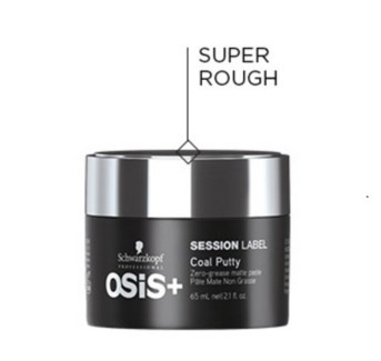 SC OS SESSION LABEL COAL PUTTY 65ML