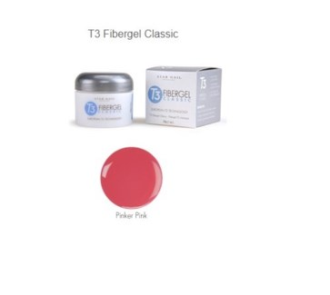 SN T3+ FIBERGEL, PINKER PINK 1OZ
