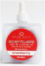 NAIL & CUTICLE OIL - CRANBERRY 2.5OZ