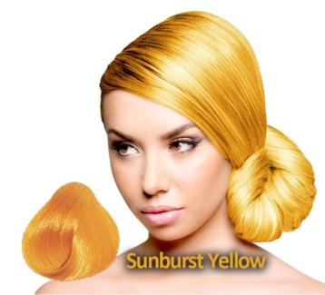 SPARKS SUNBURST YELLOW HAIR COLOR