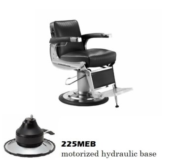 (18)TAKARA CLASSIC BARBER CHAIR MEB-BASE HEADREST EXTRA