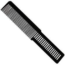 WAHL LARGE COLORED CLIPPER COMB - BLACK