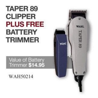 WAHL TAPER 89 CLIPPER + N/C BATTERY TRIMMER