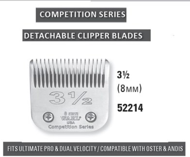 WAHL COMPETITION BLADE SIZE 3 1/2