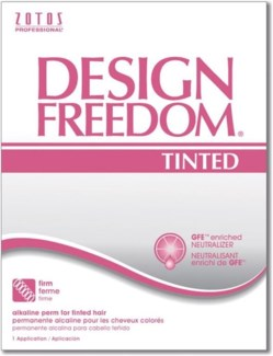 ZO DESIGN FREEDOM ALKALINE TINTED PERM  (WHITE)