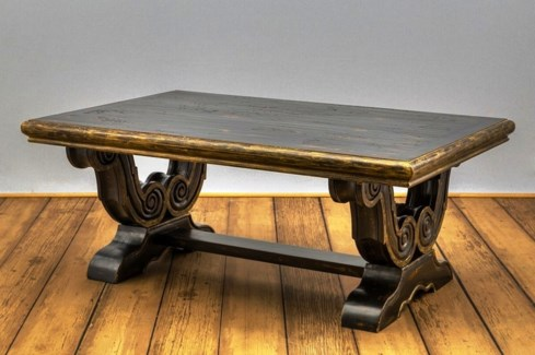 Milano Carved Coffee Table