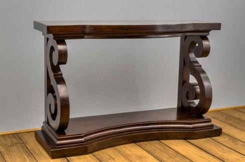 """S"" Leg Console Table"