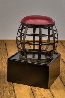 Banded Stool