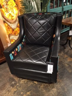 Cheyenne Club Chair w/ Swivel Base