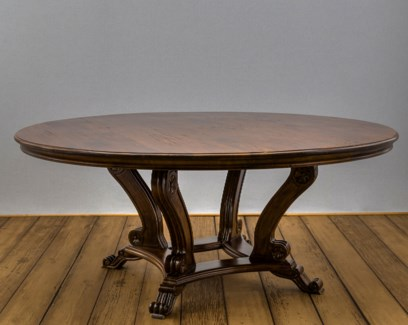 """72"""" Round Crown Dining Table"""