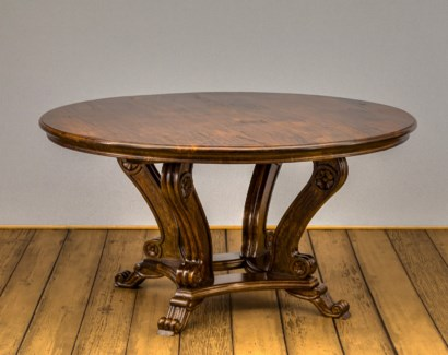 """60"""" Round Crown Dining Table"""
