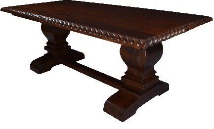"84"" Remington Trestle Dining Table"