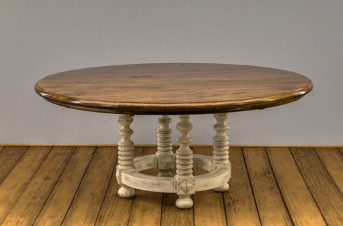 """72"""" Round Melrose Dining Table"""