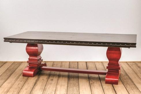 "96"" Needham Trestle Dining Table"