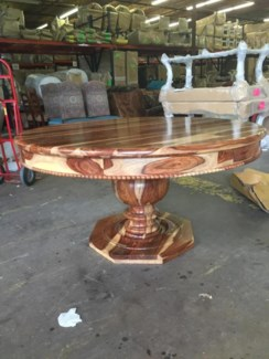 """60"""" Round Greece Dining Table"""