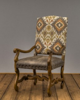 Crown Arm Chair