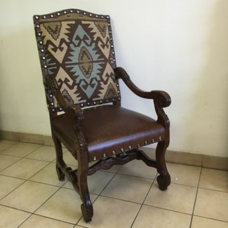 Venice Carved Arm Chair