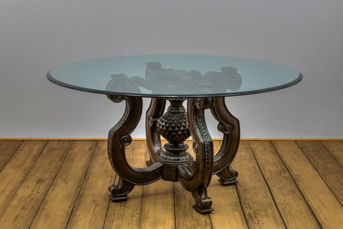 "60"" Round Glass Table top"