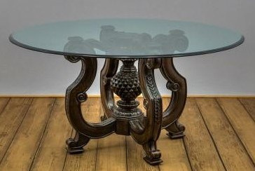 """72"""" Round  Glass Table top"""