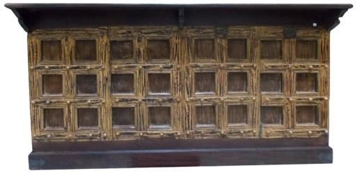 Reclaimed Wood Old Door Bar Counter