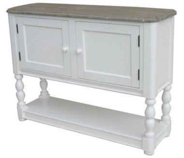 NWPRT CONSOLE CHEST-WHT/RW+