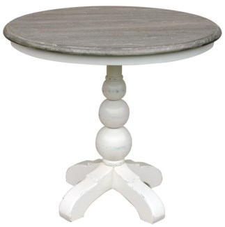 SOHO CAFE TABLE- WHT/RW+