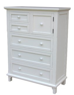 CHESAPEAKE HIGH CHEST-WHT