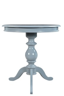 Gloria Side Table with Grey Finish