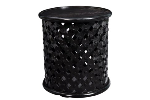 Icarus Side Table with Black finish