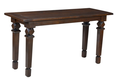 Pile Console table