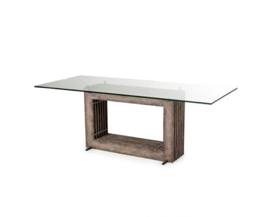 Oliver Dining Table - Driftwood