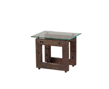 Teddy Side Table - With Glass