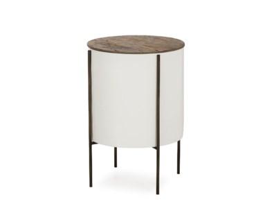 "Danica Side Table - 17"" Tube"