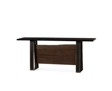 Jordan Console Table - Black Acrylic