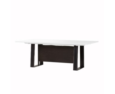 Jordan Dining Table- White Acrylic