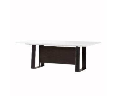 Jordan Dining Table- White Acrylic